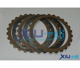 [22310-XOB-0001] Kevlar clutch friction discs with steel discs kit - Ossa TR280i 280-300