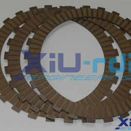 [22300-XGF-0001] Kevlar clutch friction discs kit - GG TXT 125/250/280/300